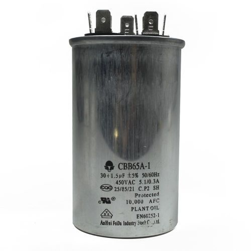 Capacitor 30+1.5 MFD 450V 50/60HZ
