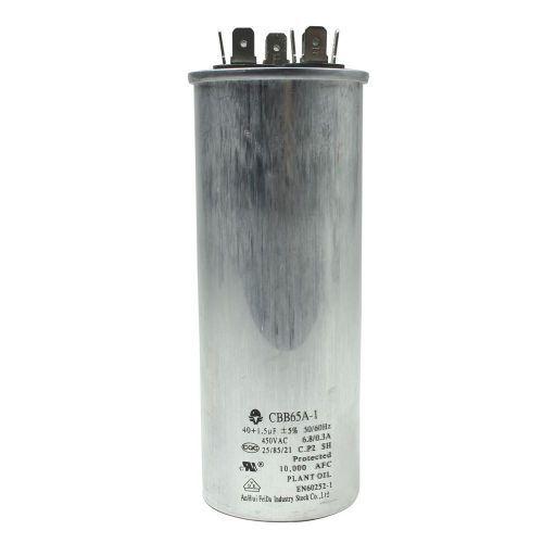 Capacitor 40+1.5 MFD 380V 50/60HZ