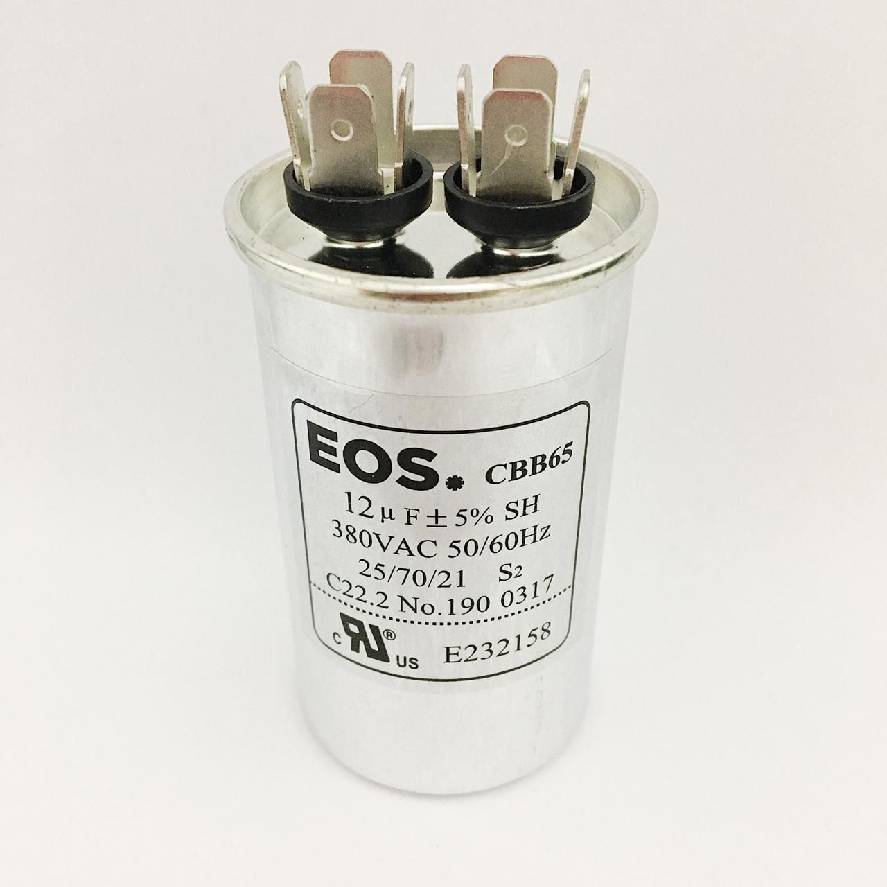 Capacitor EOS 12 MFD 380V 50/60Hz