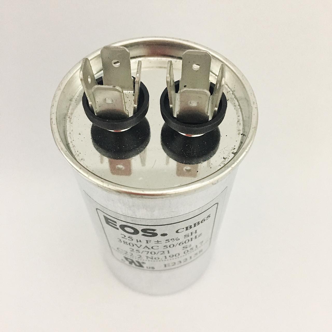 Capacitor 25 MFD 380V 50/60Hz