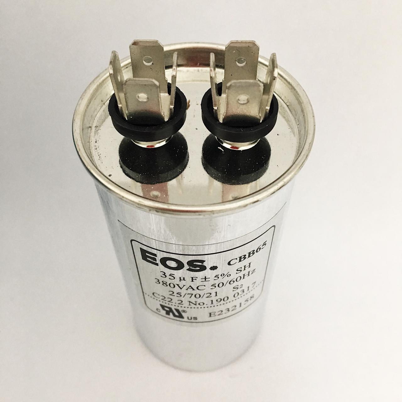 Capacitor 35 MFD 380V 50/60HZ