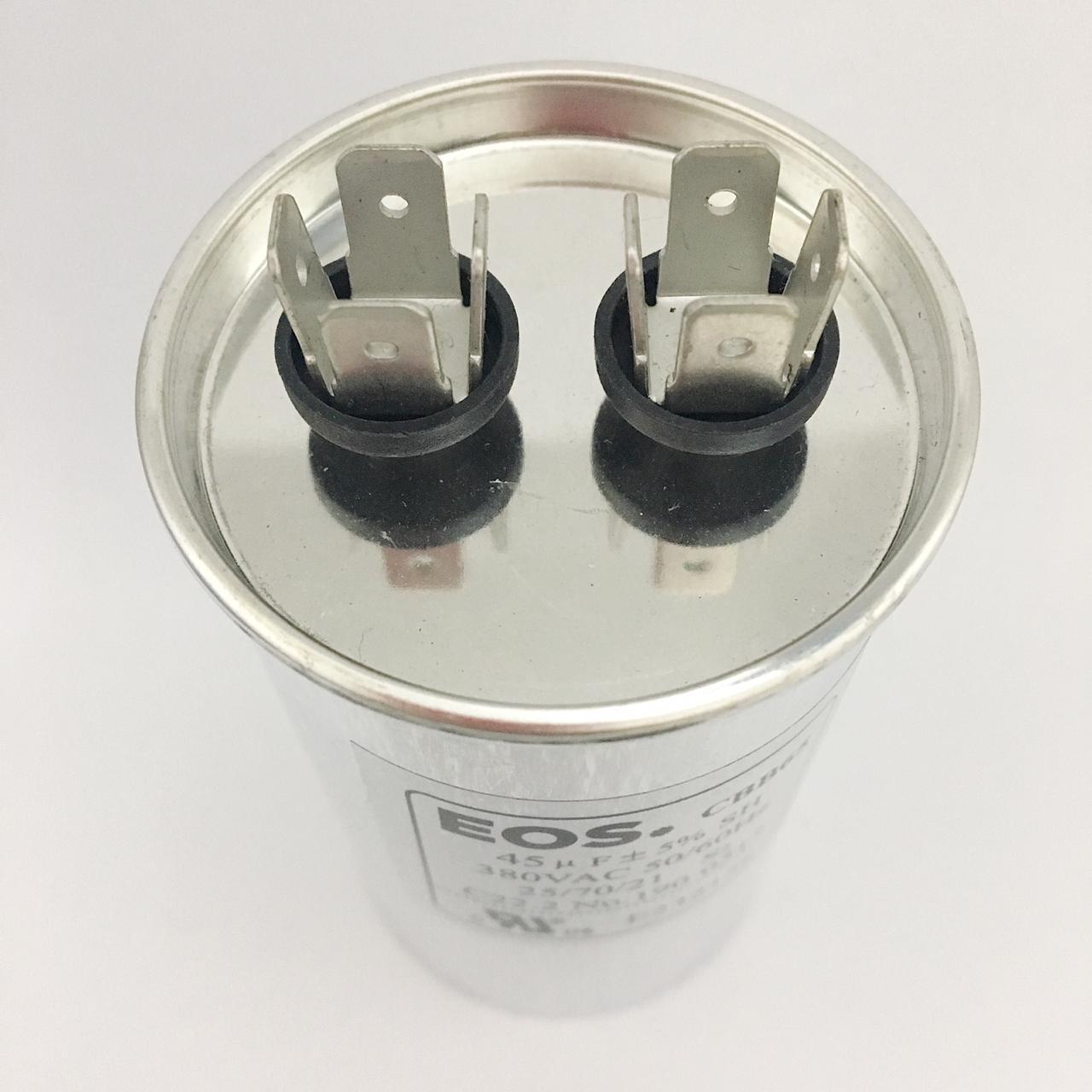 Capacitor 45 MFD 380V 50/60Hz