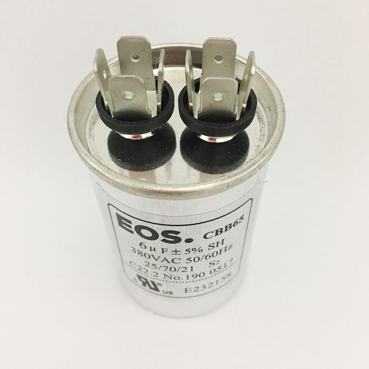 Capacitor 6 MFD 380V 50/60Hz