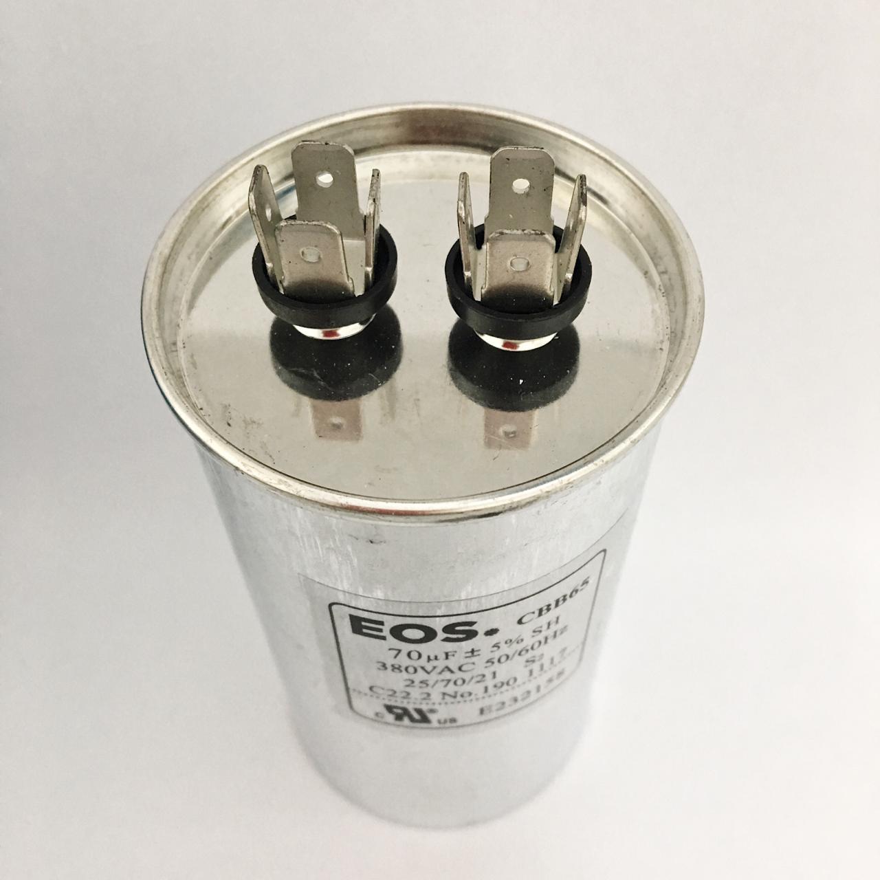 Capacitor 70 MFD 380V 50/60HZ