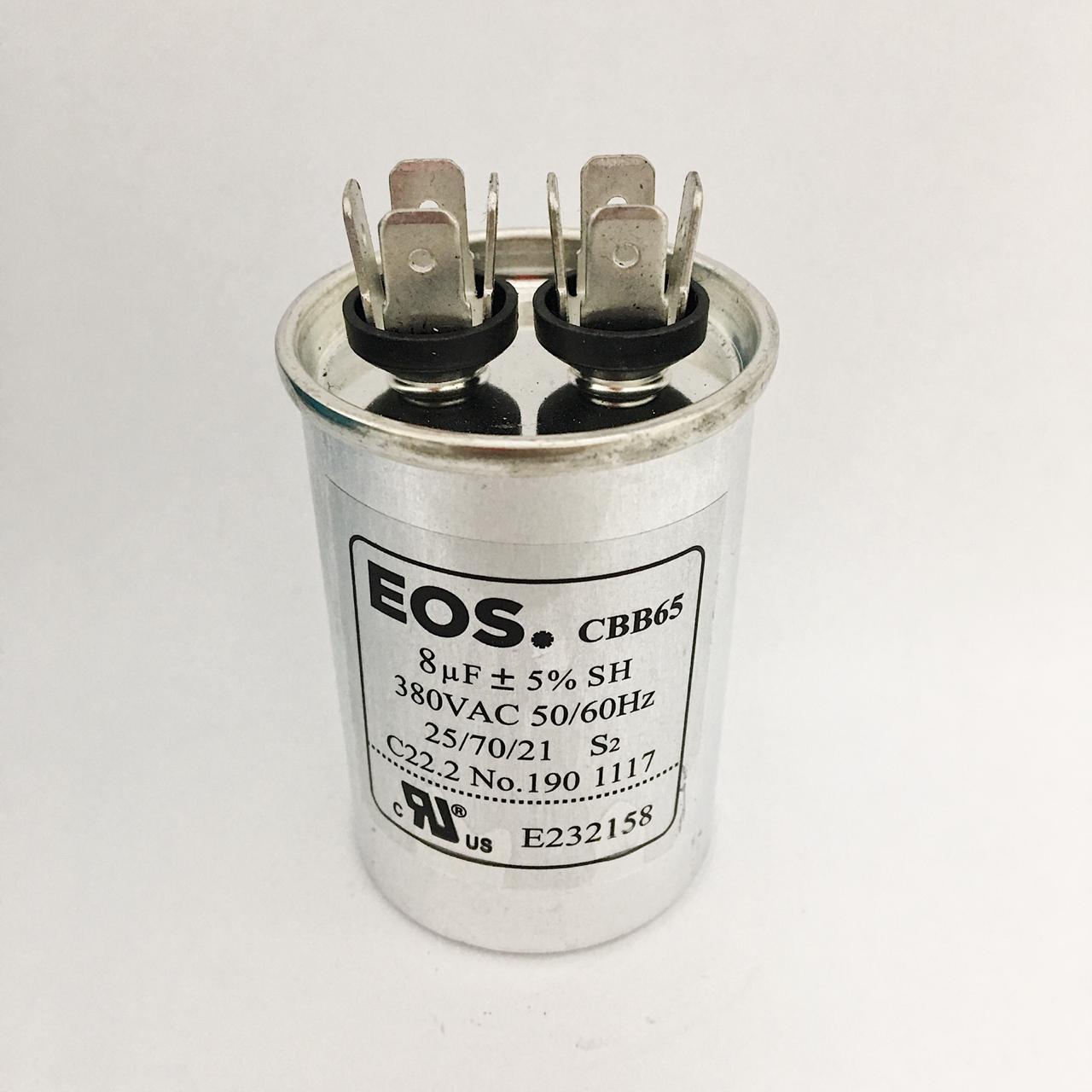 Capacitor 8 MFD 380V 50/60Hz