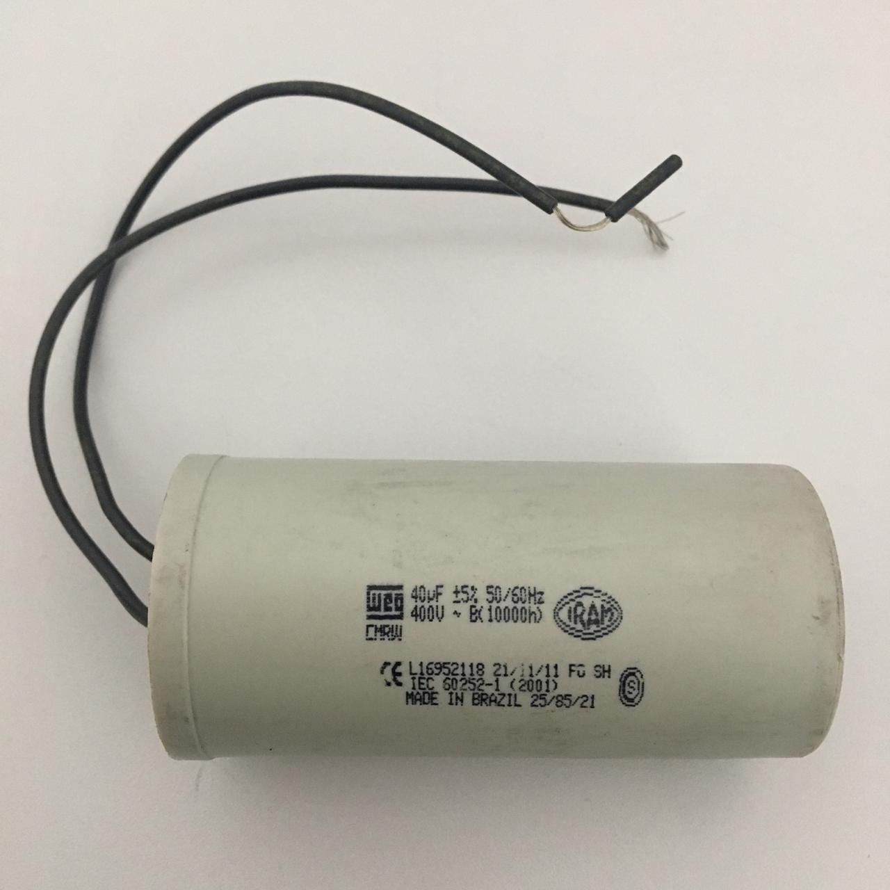 Capacitor Ar Condicionado 400V 40uf Hitachi HLD19713H