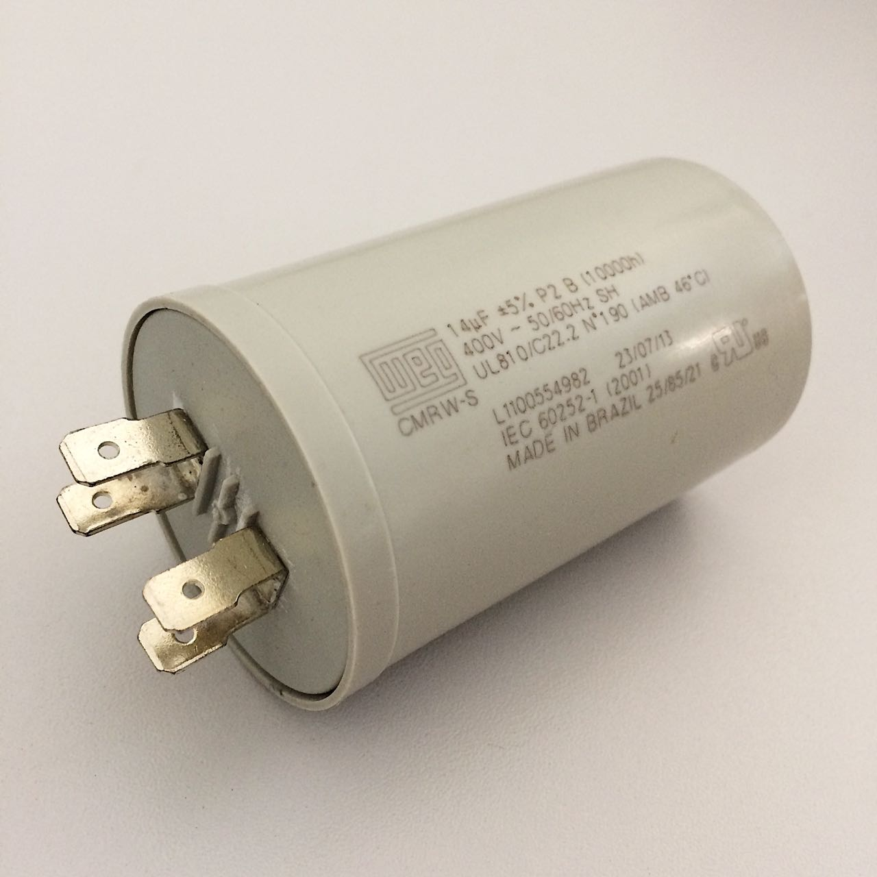 Capacitor 14uf 400V Faston Du Hitachi HLD30030I