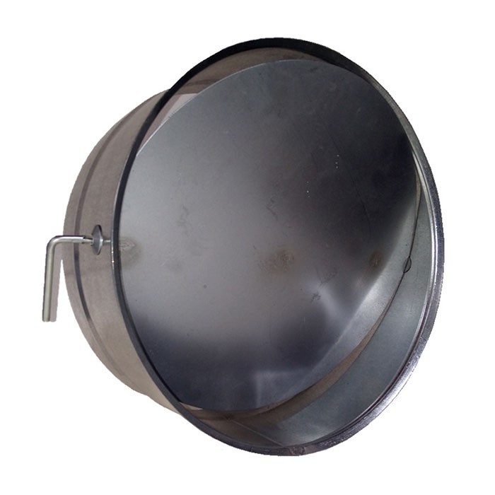 Colarinho para Duto Flexível com Registo 6 Pol. 150mm