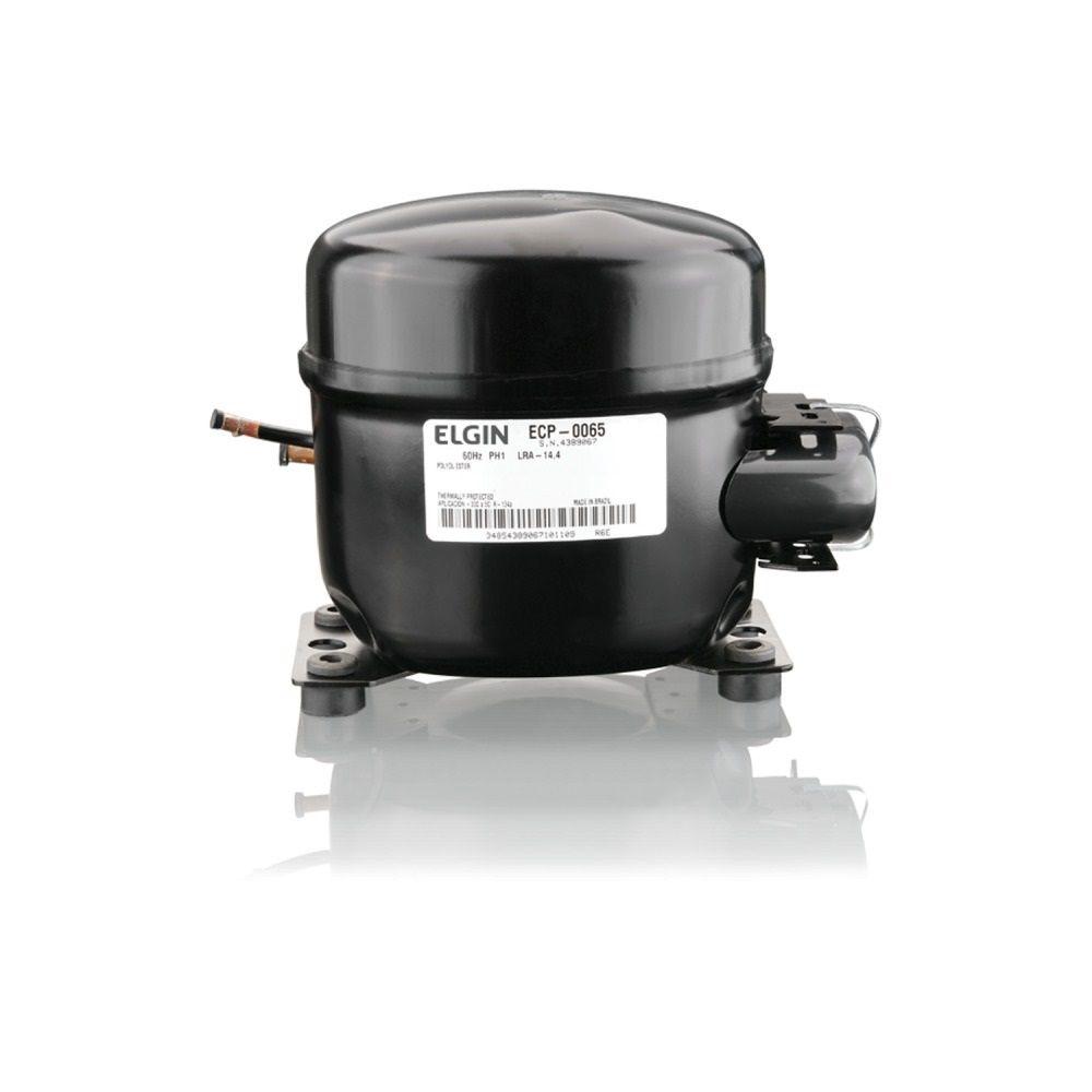 Compressor Elgin ECP 0065 DCI 1/5 HP 110V Gás R134a