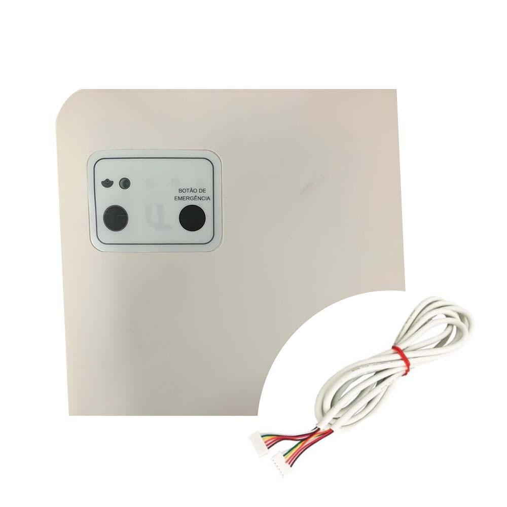 Conjunto Cantoneira com Receptor Ar Condicionado Hitachi HLD34241C