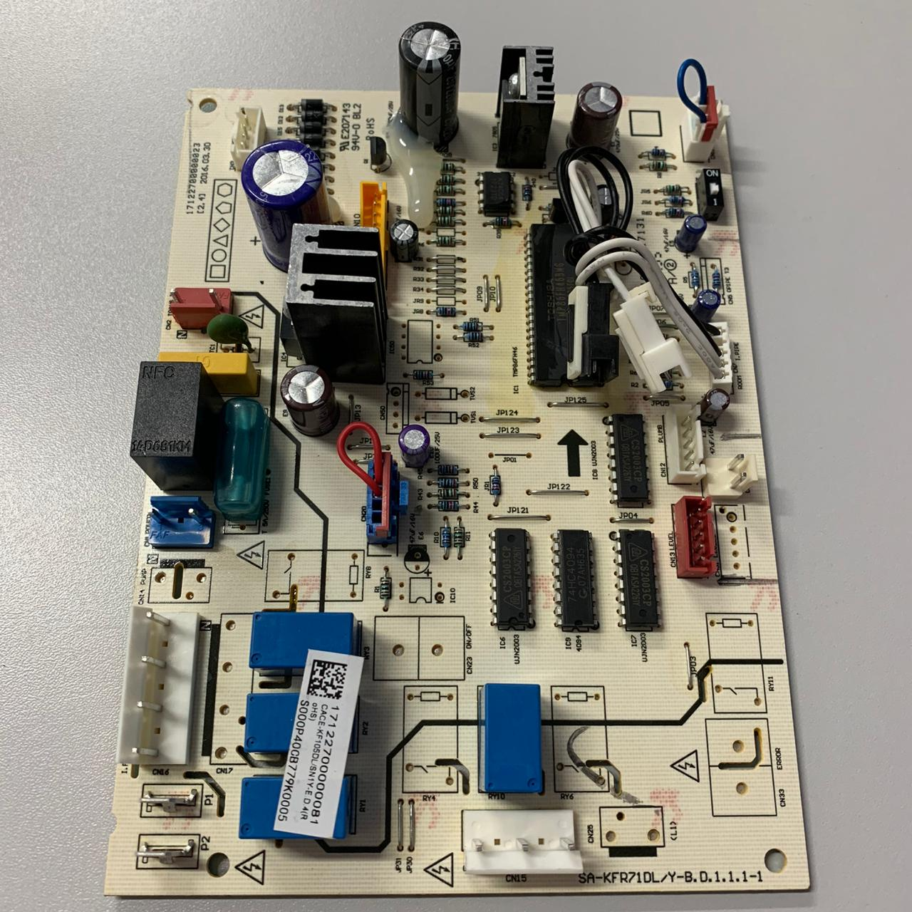 Conjunto de Placa de Controle Hitachi 171M22700000081