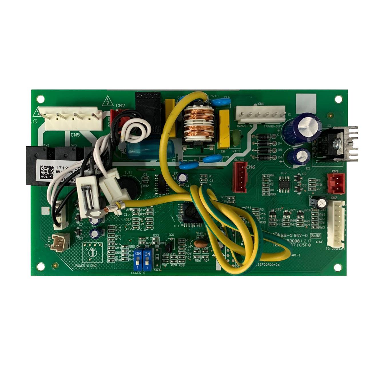 Conjunto Placa Eletrônica Ar Condicionado Space Inverter Midea 05830597