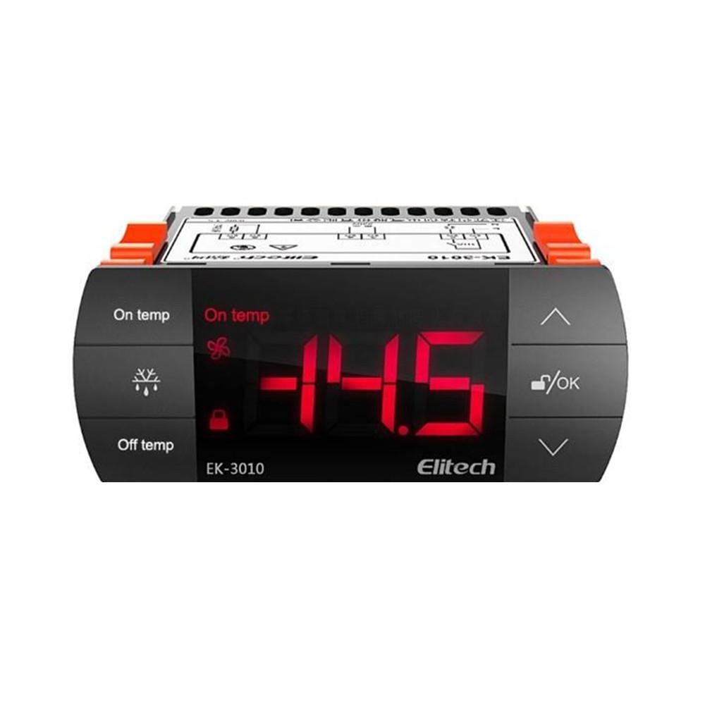 Controlador de Temperatura EK-3010 220V Com Sensor de 2m Elitech