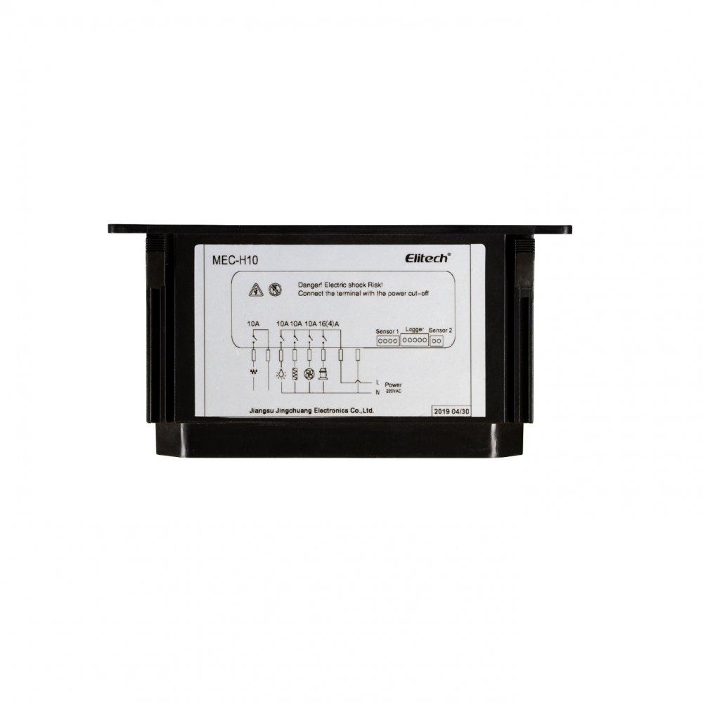 Controlador Digital de Temperatura e Umidade 220V Elitech MEC-H10