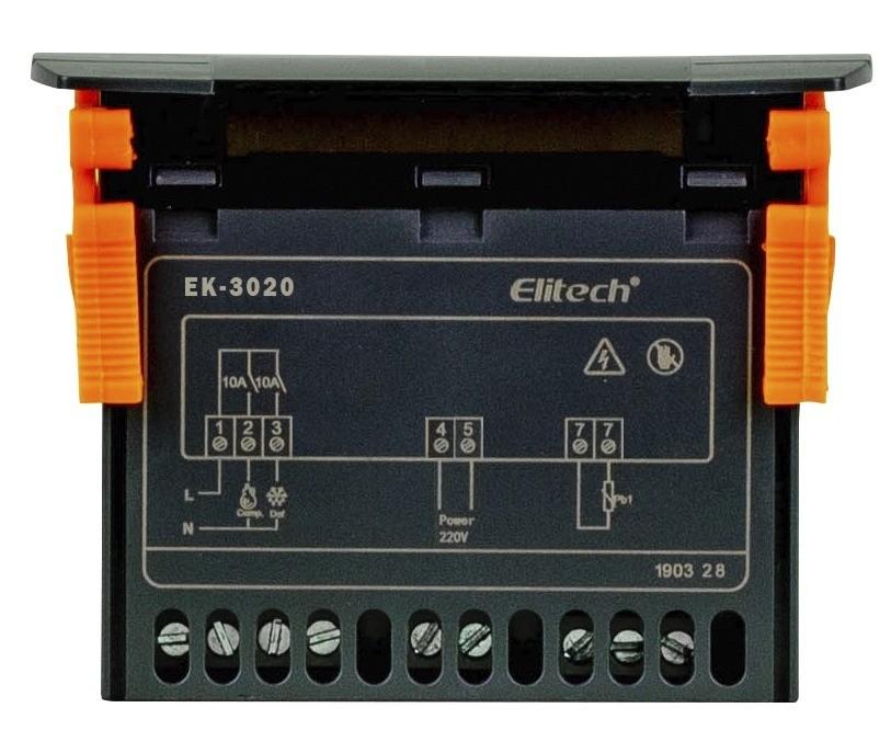 EK-3020 CONTROLADOR DIGITAL TEMPERATURA CINZA