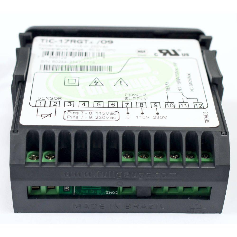 Controlador Temperatura TIC-17RGTi 115/230 Vac