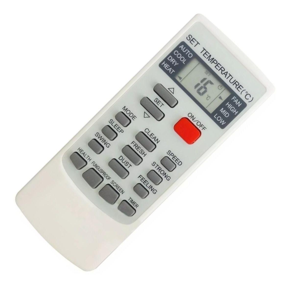 Controle Remoto Ar Condicionado Elgin YKR-H/002E Similar