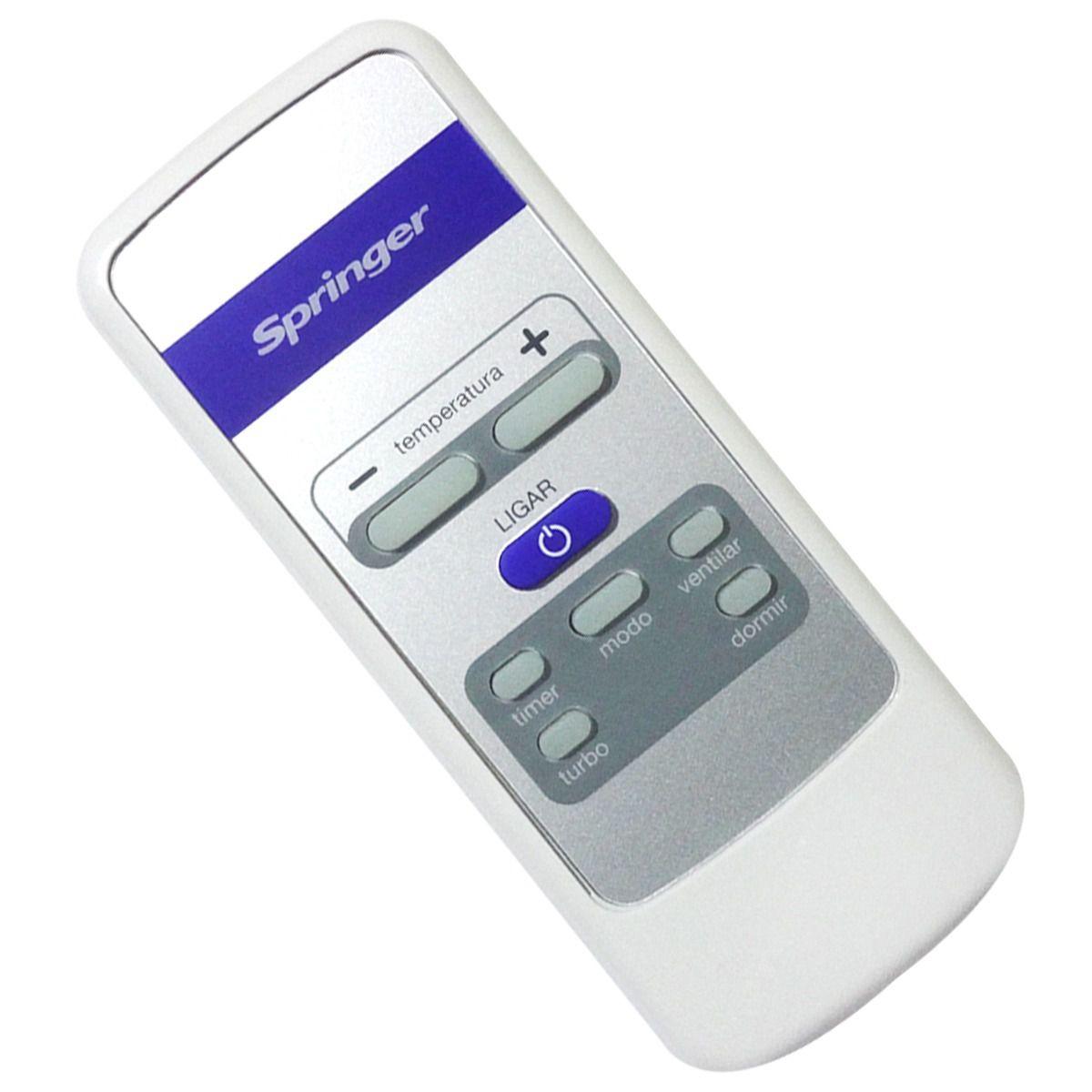 Controle Remoto Ar Condicionado Janela Springer Minimaxi GW79037009