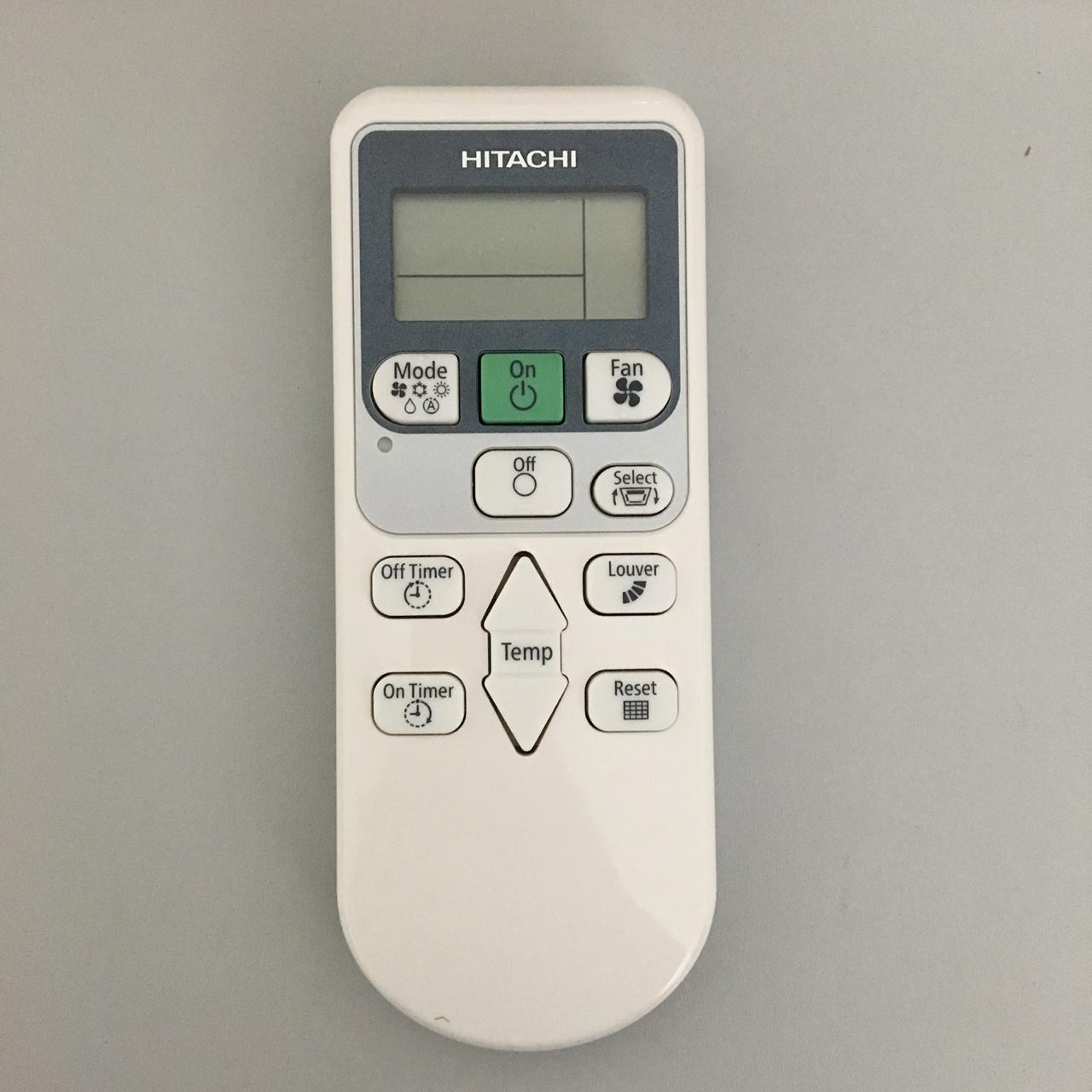 Controle Remoto Ar Condicionado Sem Fio Hitachi PCAWRB