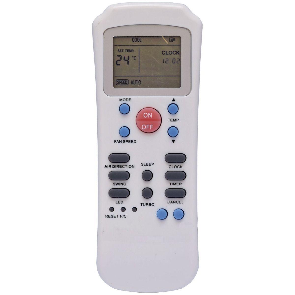 Controle Remoto Ar Condicionado Springer Carrier R14A/CE
