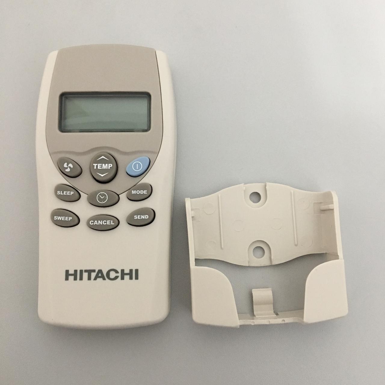 Controle Remoto Ar Condicionado Hitachi HLE7756A Evaporadora Cassete família Set Free e Utopia