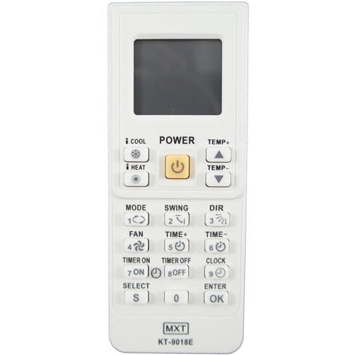 Controle Remoto Ar Condicionado Universal KT-9018E
