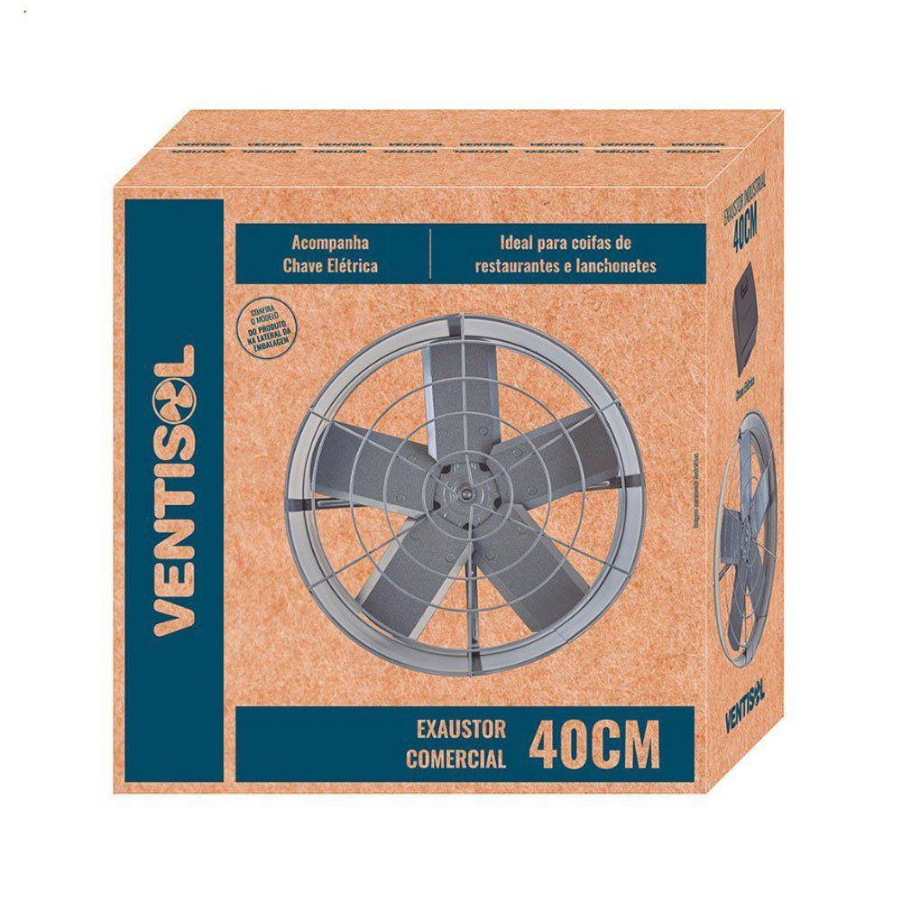 Exaustor Axial Comercial 40cm 110V Ventisol