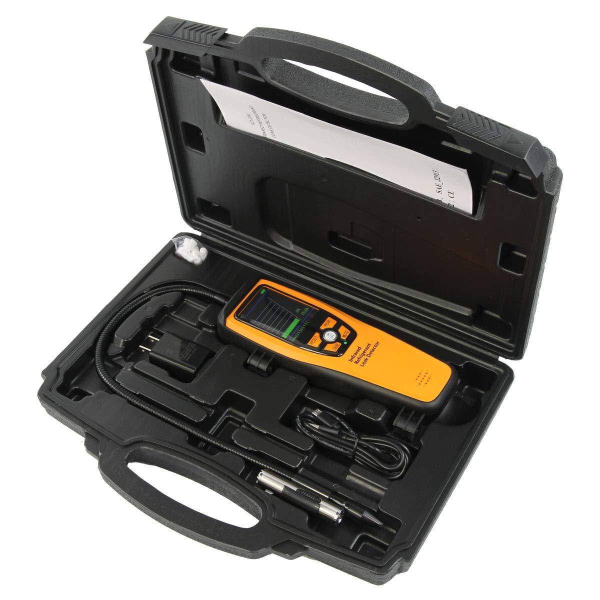 Detector de Vazamento de Refrigerante por Infravermelho Elitech ILD-200
