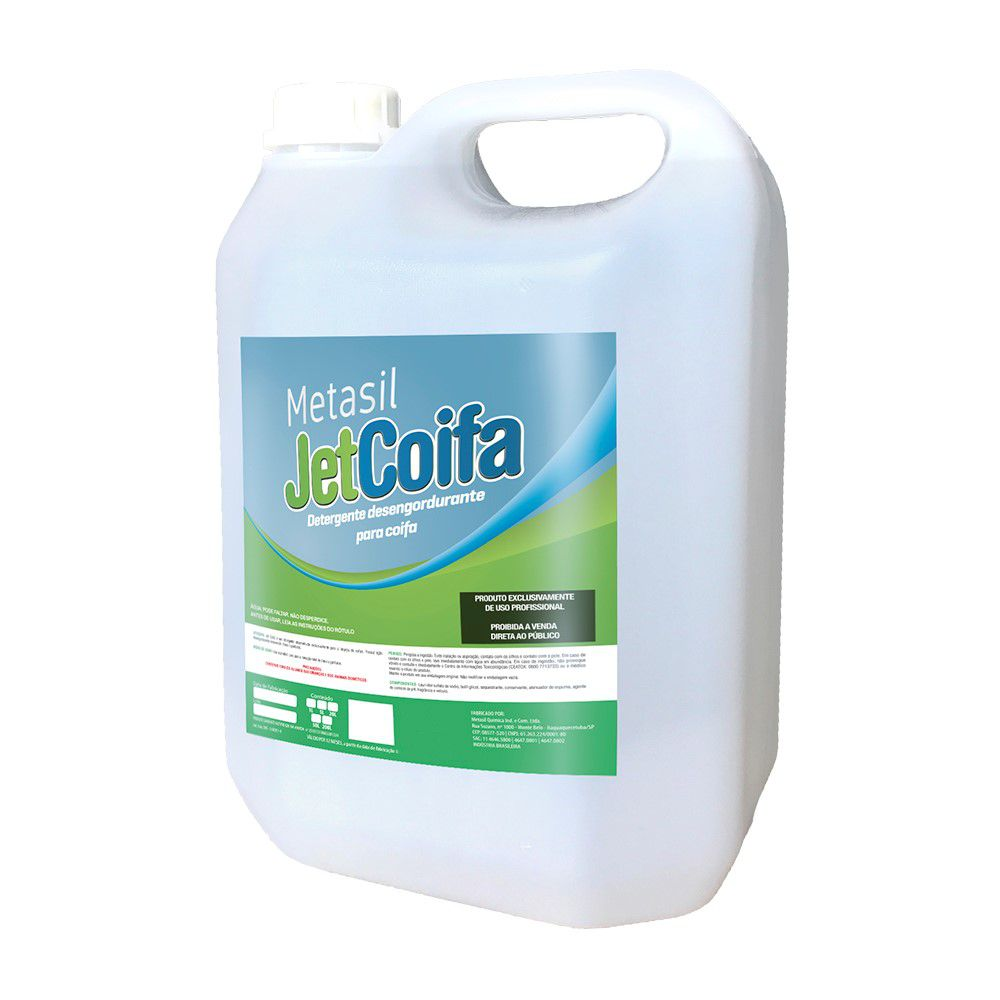 Detergente Desengordurante Profissional JetCoifa 5 Litros
