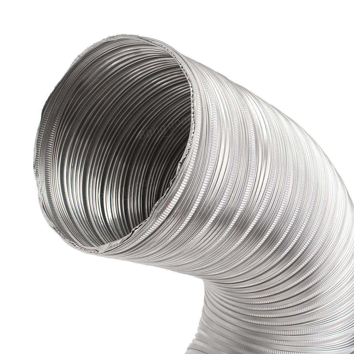Duto de Alumínio Semi Rígido (Rolo c/ 1,5 mts)