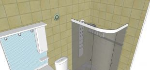 Exaustor para Banheiro Mega 34 Bivolt Sicflux