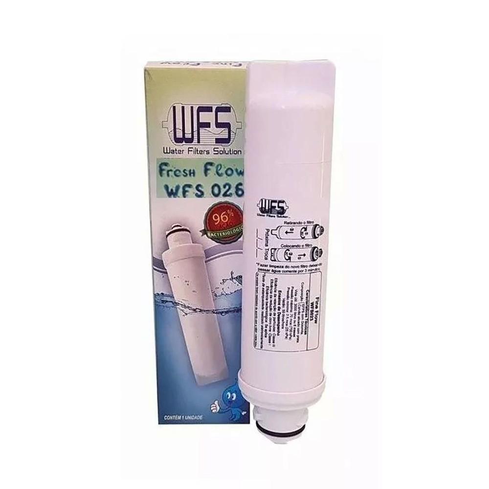 Filtro Refil Purificador Similar Midea KFPNA WFS 026 Fresh Flow