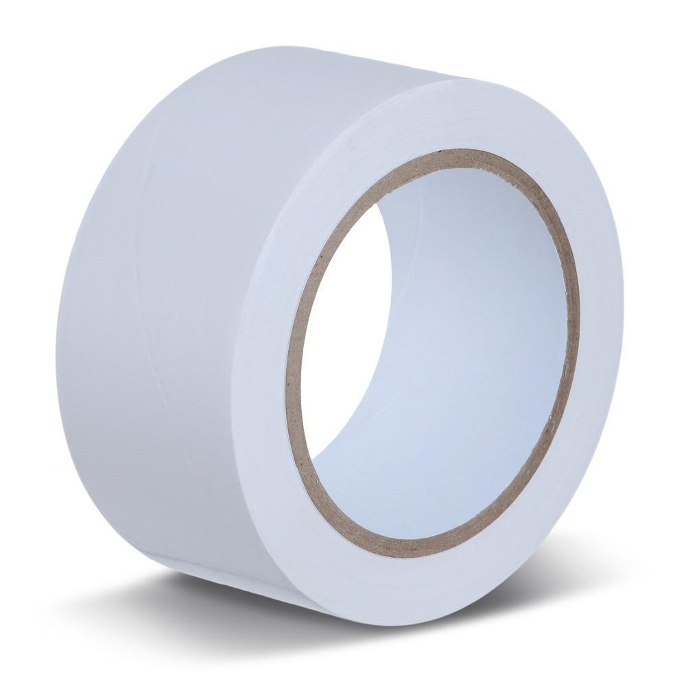 Fita Adesiva Multiuso Silver Tape 48mm x 10m Branca