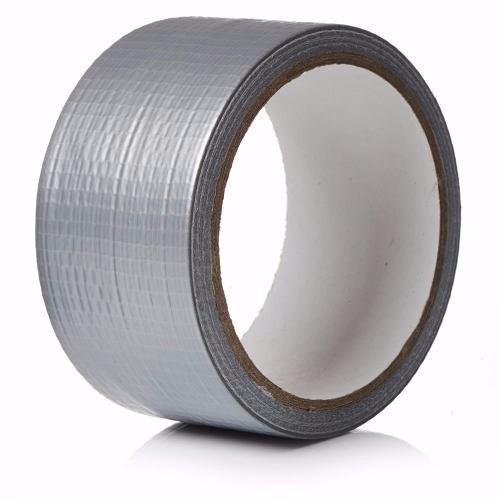 Fita Adesiva Multiuso Silver Tape 48mm x 10m Prata