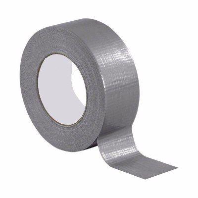 Fita Adesiva Multiuso Silver Tape 48mm x 25m Instalação Ar Condicionado