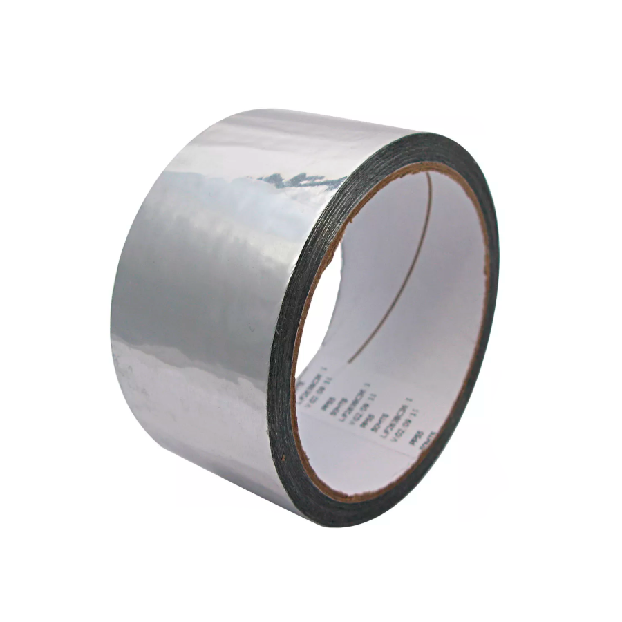 Fita Aluminizada Refrigeração Ar Condicionado 45mm x 40m