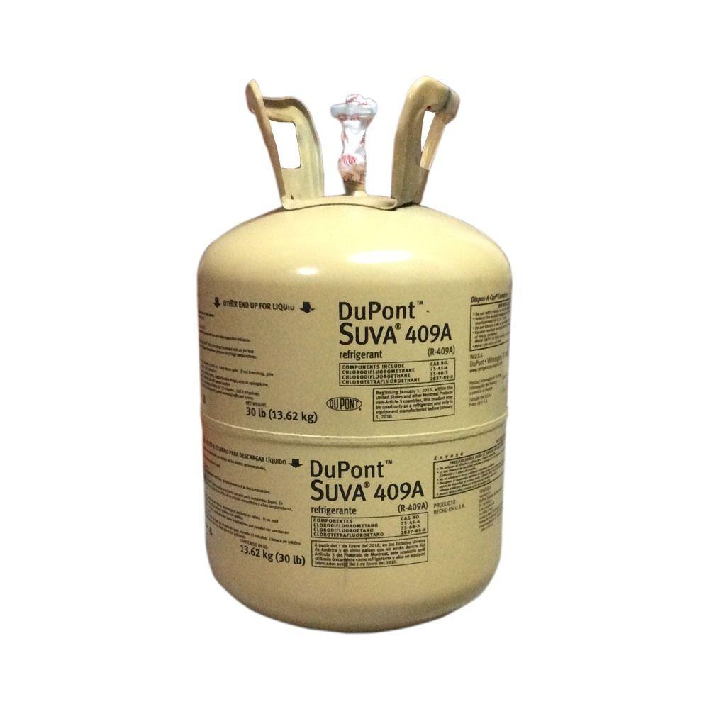 Gás Refrigerante Dupont R409a Cilindro 13,6 kg