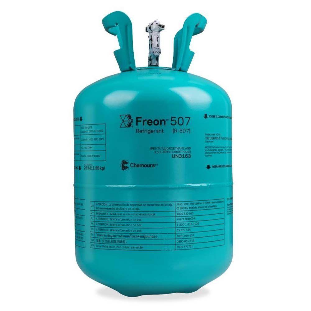 Gás Refrigerante Freon 507