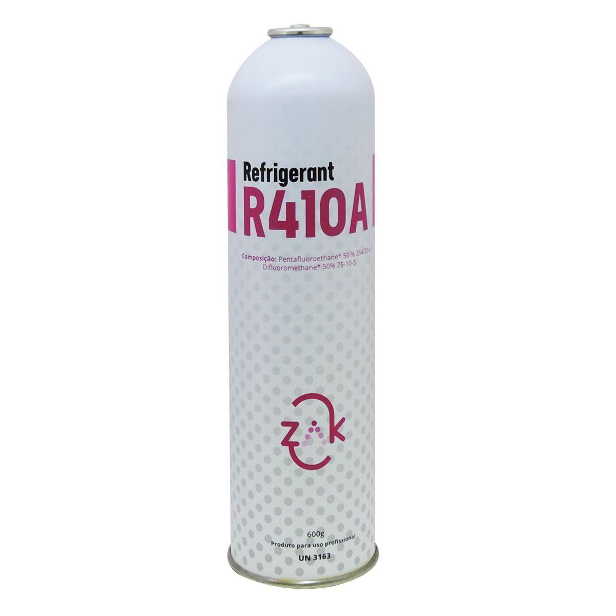 Gás Refrigerante R-410a Ar Condicionado 600g