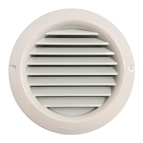 Grade de Ventilação Redonda de Encaixe Fixa para Entrada ou Saída do Ar