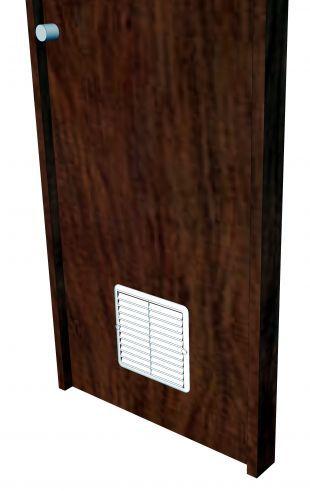 Grades Plásticas Quadrada Fixa Sem Colarinho 14,4x17cm