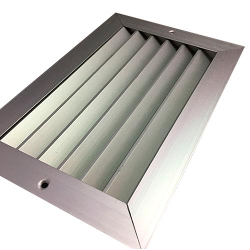 Grelha de Retorno Horizontal em Alumínio 200x100mm