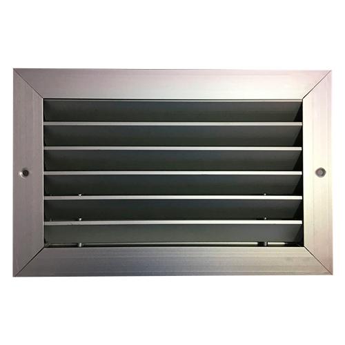 Grelha de Retorno Horizontal em Alumínio 250x150mm