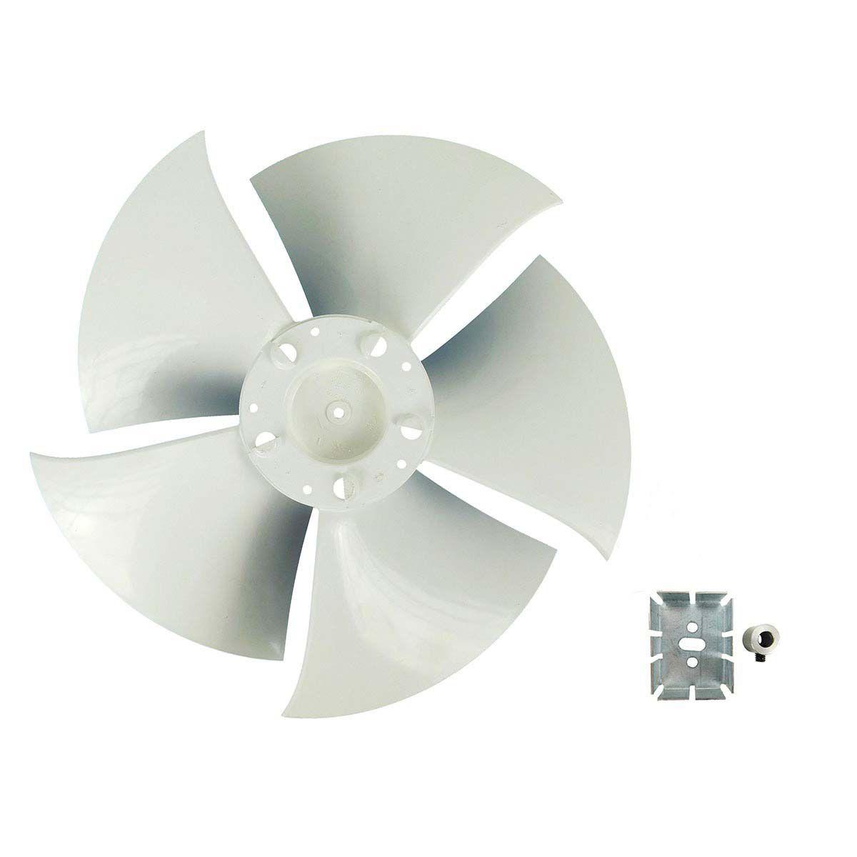 Hélice Ar Condicionado Hitachi RAP 18.000 até 30.000 Btus Ø370mm