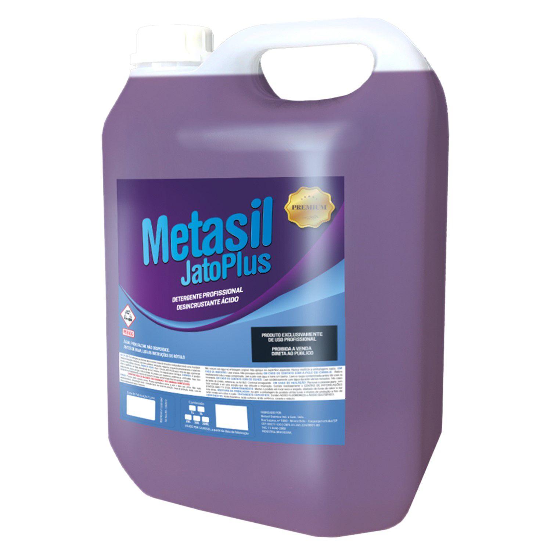 JatoPlus Metasil Limpeza de Ar Condicionado Desincrustante Ácido 5 Litros