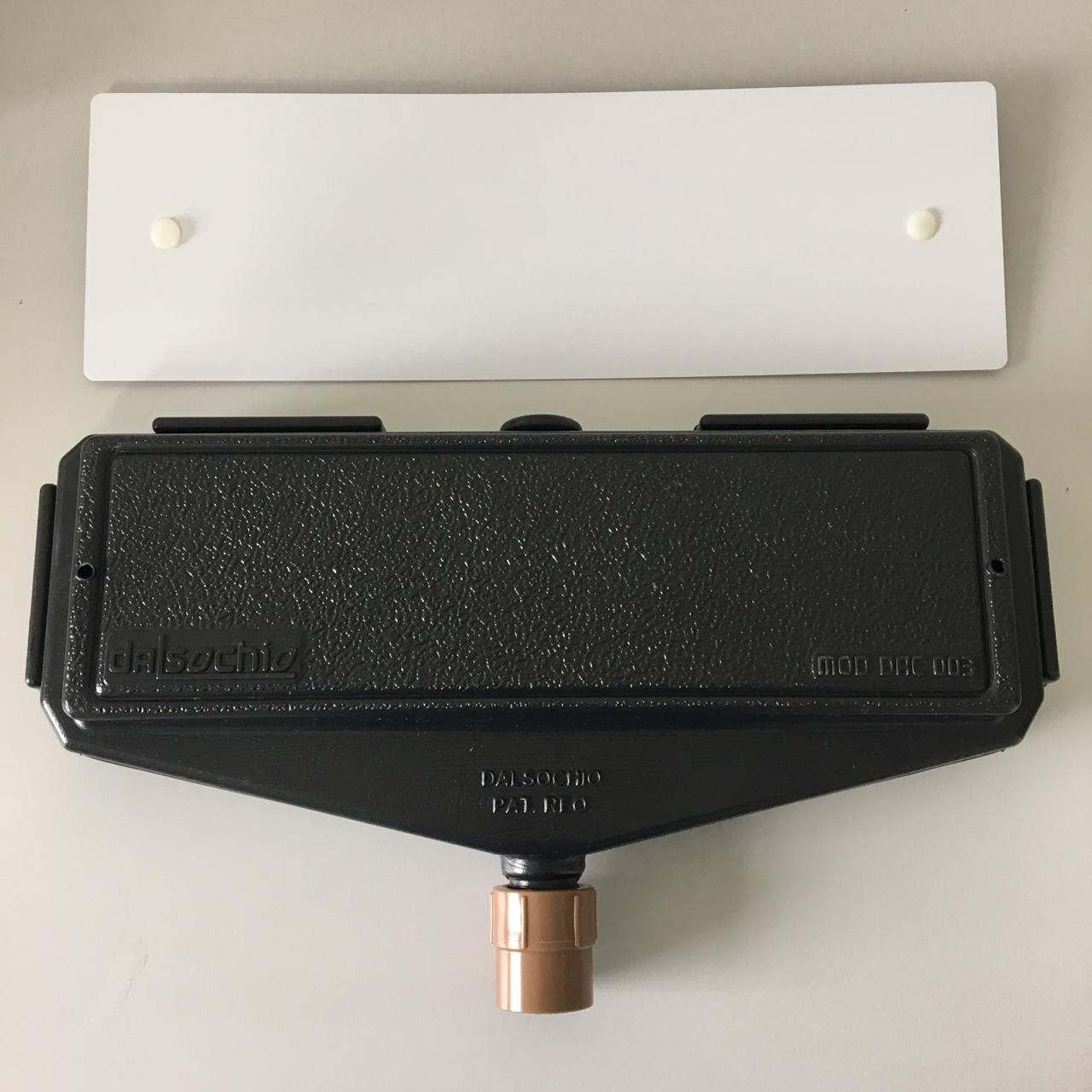 Kit Caixa de Passagem DAC003 + Tampa DAC003 + Luva PVC Rosca 3/4