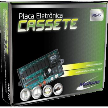 Kit Controle Remoto Placa Eletrônica Universal Para Cassete