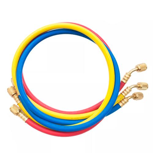 Kit Manifold + 3 Mangueiras 90cm + Maleta Para R22/R134/R404/R407