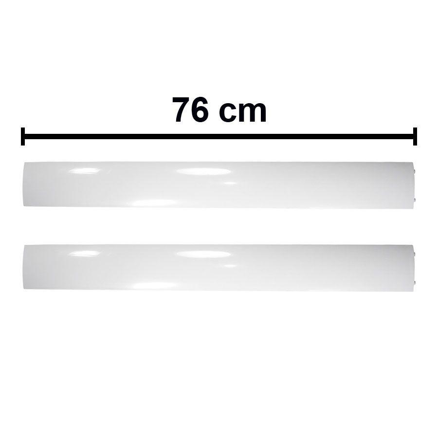 Kit Vane Horizontal Direita e Esquerda Piso Teto Space 48.000 e 60.000 Btus