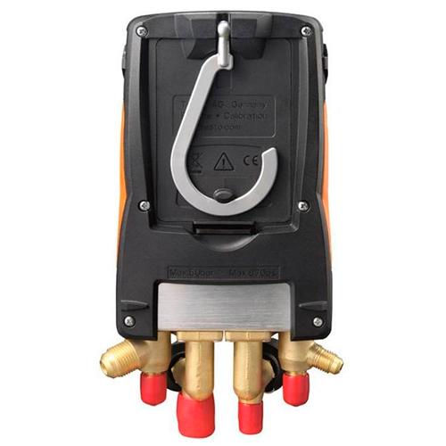 Manifold Digital Testo 557 4 Vias Vacuômetro Bluetooth Integrado com Maleta